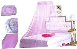 Princess Bed Canopy Netting Mosquito Net Round Lace Dome for