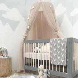 Princess Kids Baby Bed Canopy Mosquito Net Dome Tent Curtain