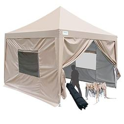 Quictent Privacy 8x8 Ez Pop Up Canopy Tent Outdoor with Side