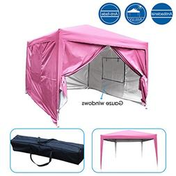 Quictent Upgraded Privacy 8x8 Easy Pop Up Canopy Tent with S