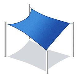 ALEKO 18 x 18 Waterproof Sun Shade Sail Canopy Tent Replacem