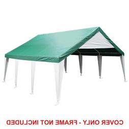 King Canopy Replacement 20 ft. W x 20 ft. D Green Event Tent