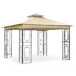 Garden Winds LCM1157B-RS Garden Treasures GEO Gazebo Riplock