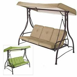 Garden Winds Replacement Canopy for Lawson Ridge 3 Person Sw