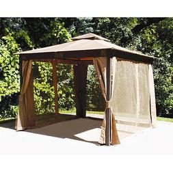 Garden Winds Replacement Canopy for Menards 10x10 Gazebo