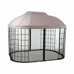 Garden Winds Replacement Canopy for Oval Dome Gazebo RipLock