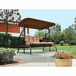 Garden Winds Replacement Canopy for Walmart Sand Dune 3-Seat