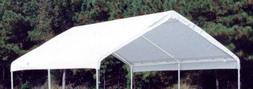 Canopy Replacement Drawstring Cover in White 764802