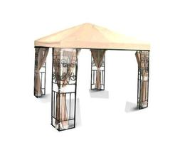 10'x10' Replacement Gazebo Canopy Top Cover Outdoor Green Be