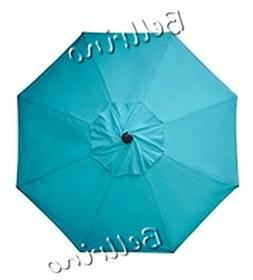 """BELLRINO DECOR Replacement LAKE BLUE """" STRONG & THICK """" Umbr"""