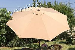 "BELLRINO DECOR Replacement SAND "" STRONG & THICK "" Umbrella"
