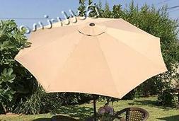 "BELLRINO DECOR Replacement SAND "" STRONG & THICK "" Umbrella"