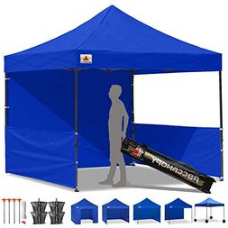 ABCCANOPY 10x10 Rhino-Series Easy Pop Up Canopy Tent Commmer