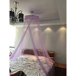 Round Lace Curtain Dome Bed Canopy Netting Princess Mosquito