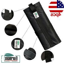 4pcs Monoshock Sand Bag Weight Bag For Ez Pop Up Canopy Inst