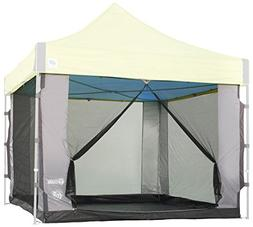 E-Z UP SC10SLGY Cube Mesh Wall Canopy Screen Room, 6 Person