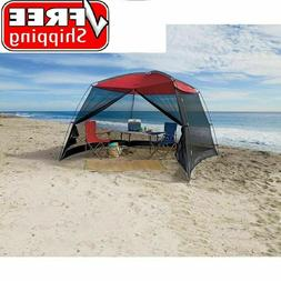 Screen House Canopy Tent 10x10 for Outdoor Sun Shade Beach C
