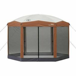 Coleman Screened Canopy Sun Shade 12x10 Tent With Instant Se
