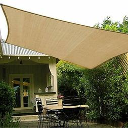 "Shade""Beyond 10'x10' Shade Sails Sun Canopy UV Block For Pat"