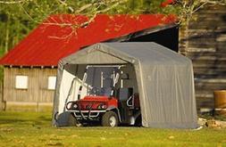 ShelterLogic 8' x 8' Shed-in-a-Box All Season Steel Metal Pe