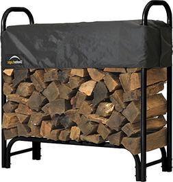 ShelterLogic Covered Firewood Rack - 4 ft. - 46.6 Height x 1