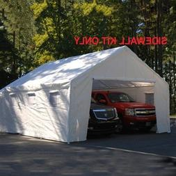King Canopy 20 Ft x 20 Ft Sidewall Kit w/Flaps