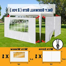 BenefitUSA Sidewalls 10'X6.4' Size for Tent Outdoor Pop Up C
