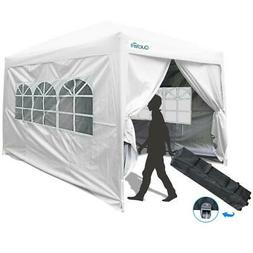 Quictent 10x10 Instant Pop Up Canopy Party Tent Waterproof w