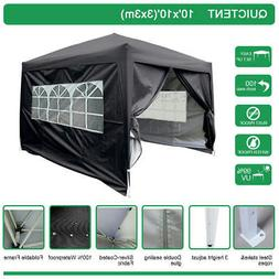 Quictent Silvox® Waterproof 10x10'EZ Pop Up Canopy Gazebo P