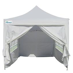 Quictent Silvox Waterproof 8x8' EZ Pop Up Canopy Commercial