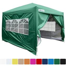Quictent Silvox® Waterproof 10x10' EZ Pop Up Canopy Gazebo