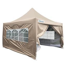 Quictent Silvox Waterproof 10x10' EZ Pop Up Canopy Gazebo Pa