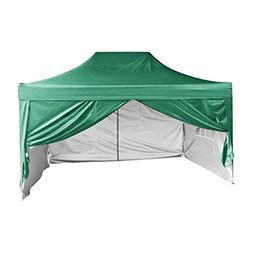 Quictent Silvox Waterproof 10x15' EZ Pop Up Canopy Commercia