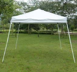 Outsunny Slant Leg Easy Pop-Up Canopy Party Tent, 8 x 8-Feet