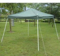 Outsunny Slant Leg Easy Pop-Up Canopy Party Tent, 10 x 10-Fe