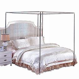 Stainless Steel Canopy Mosquito Netting Canopies Frame/Post