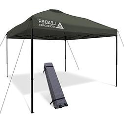 Leader Accessories 10x10 Straight Wall Pop Up Instant Canopy