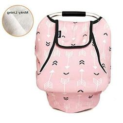 Stretchy Baby Car Seat Covers for Boys Girls, Infant Car Can