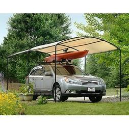 Sun Shade Car Canopy Carport Tent Shelter Frame Portable Gar