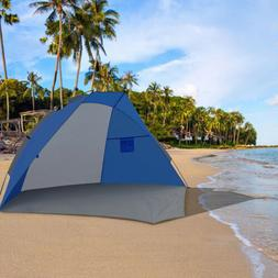 sunshade beach tent portable uv protection outdoor