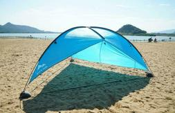 Super Big Canopy Tent With Sand Bags Easy Up Beach Sun Shelt
