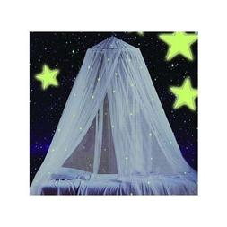 STZ Bed Canopy for Princess Girls Room Decorations -Reading