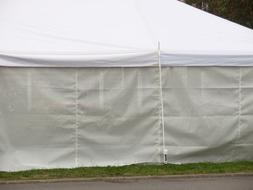 Tent PE Sidewall White Outdoor Canopy Side Wall Shade Side P
