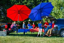TailBrella The Hitch Umbrella for Tailgating, Beach, Camping