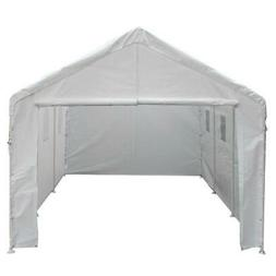10x20 Univeral Enclosed Canopy with windows-1 3/8 '' Pipe