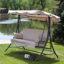 Garden Winds Universal Replacement Swing Canopy - Rip Lock,