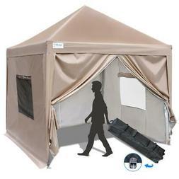 Upgraded Quictent 10X10 EZ Pop Up Canopy Gazebo Party Tent w
