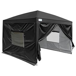 Quictent Upgraded Privacy 8x8 ft Easy Pop Up Canopy Tent Ins