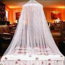 Lace Dome Mosquito Net Bed Canopy Netting Double King Size F