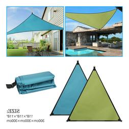 Waterproof Canopy Sun Shade Sails 300D Oxford UV Protection